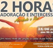 12 Horas de Adoração e Intercessão